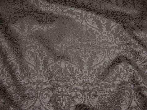 damask drapery fabric pewter parisian embossed damask vinyl upholstery drapery