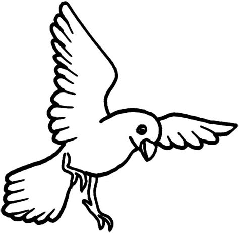 Coloring Page Of Birds Flying | free coloring pages of flying birds