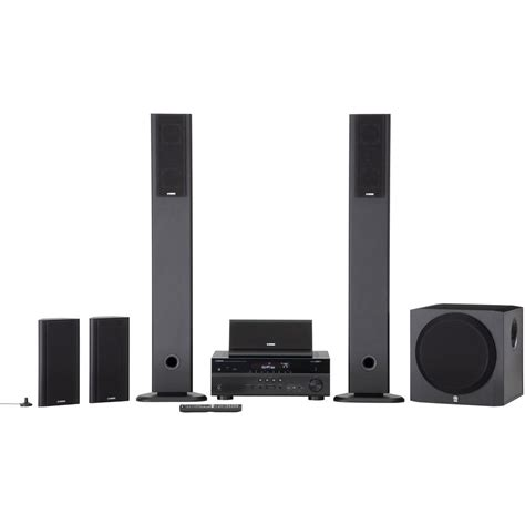 yamaha yht 897bl 5 1 channel home theater in a box yht