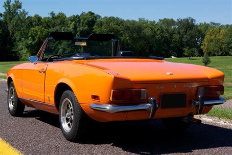 1972 fiat spider 1972 fiat 124 sport spider bring a trailer