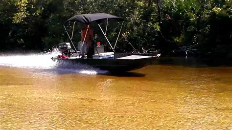 shallow water jet boats running shallow in my jet boat 1 youtube