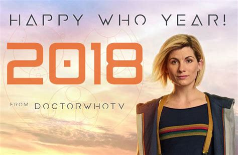 new year tv happy new year 2018 doctor who tv