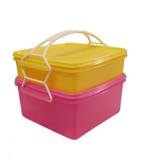 Tupperware Goodie Box tupperware large goody box set of 2 containers with