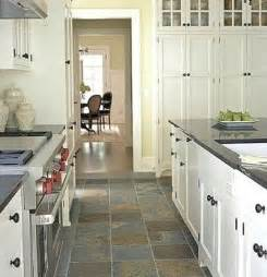 Slate Floor Kitchen Replace Rustic Slate Floor Honed Quartzite Or Soapstone