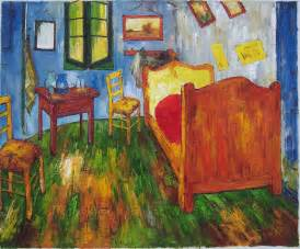 Bedroom Gogh Painting Gogh Bedroom Painting Home Design