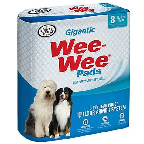 how to a to use wee wee pads wee wee pads puppy housebreaking pads petco