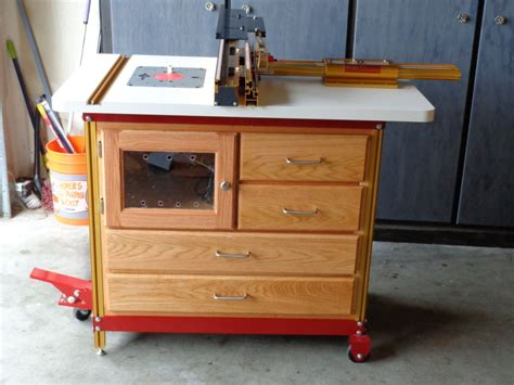Offset Router Table By Albe Lumberjocks Com