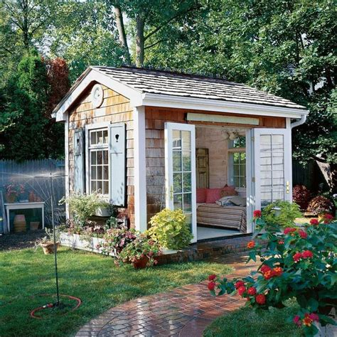 Backyard Cottage Ideas Best 25 She Sheds Ideas On Cave Garden Shed Backyard Shed Cave And