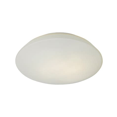 el 20099 glass flush ceiling light with opal diffuser