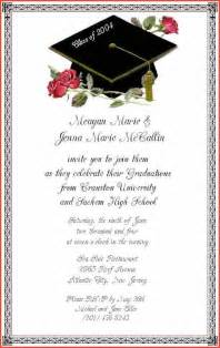 graduation invitation wording proposalsheet