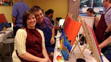 paint with a twist bentonville couples classes available picture of painting with a