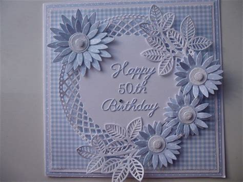 Handmade 50th Birthday Card Ideas - 25 best ideas about tonic cards on die cut