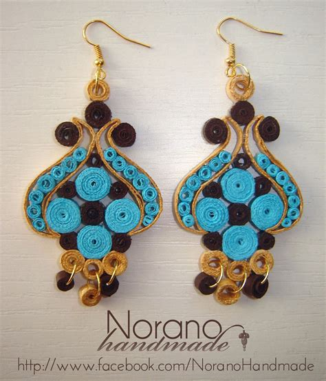 Paper Earrings Handmade Paper Jewellery - quilled earrings turkish tulip by norano handmade on