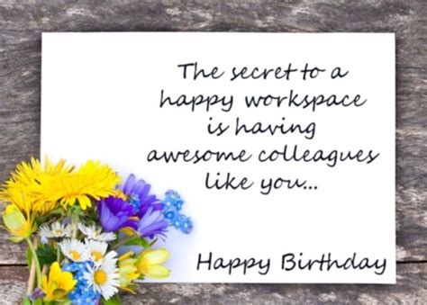 1st Year Happy Birthday Wishes 133 Best Birthday Wishes For Colleagues Bday Messages
