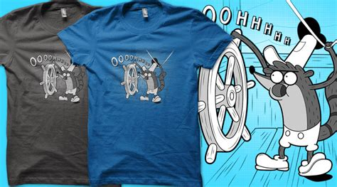 trash boat regular show shirt the gallery for gt regular show rigby shirts