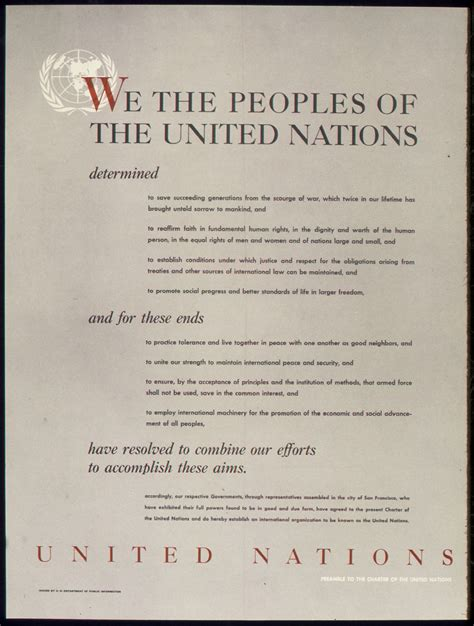 United Nations Nation 18 by Preamble