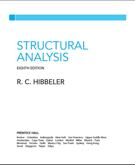 Buku Teknik Structural Analysis 8th structural analysis hibbeler 8th edition