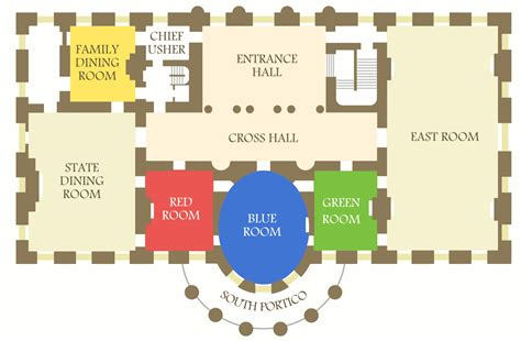 white house floor plan living quarters white house maps npmaps just free maps period