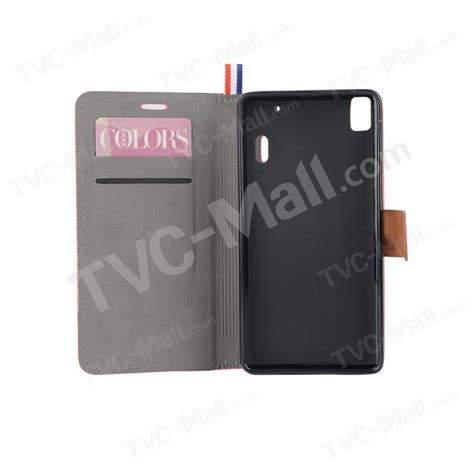Casing Lenovo A7000 Blue Ace Cards X4725 denim fabric skin leather stand card slot for lenovo