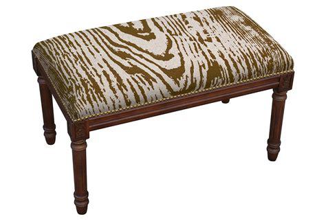 faux bois bench tonda faux bois bench chocolate from one kings lane
