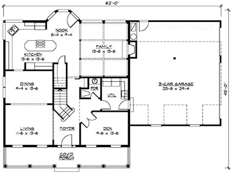Garage Floor Plans With Bonus Room | bonus room over garage 23304jd 2nd floor master suite