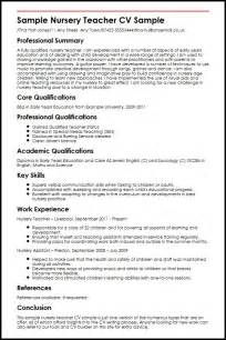 Early Years Practitioner Sle Resume by Sle Nursery Cv Sle Myperfectcv