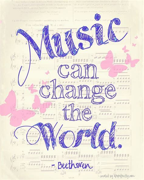 printable quotes about change music can change the world a free printable free