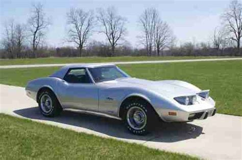 Find Used 1975 Chevrolet Corvette Convertible Loaded S Matching A C 4 Speed In Find Used 1975 Chevrolet Corvette Convertible Beautiful Survivor Owned Big Pictures In