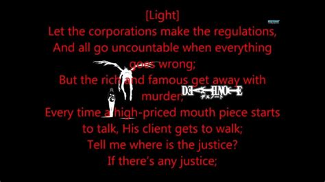justice lyrics where is the justice lyrics note musical