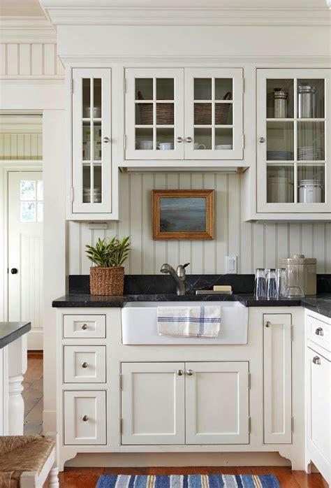 cottage kitchen furniture west chop cottage ahearn architect