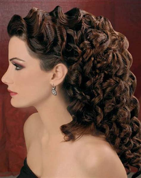 prom hairstyles tight curls prom hairstyles for round faces 2018 hairstyles