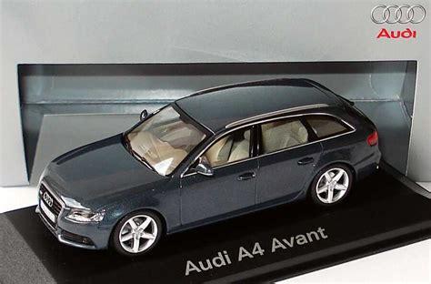 Audi A4 Avant Modellauto by 1 43 Audi A4 Avant B8 Meteorgrau Met Werbemodell
