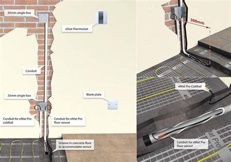 electric underfloor heating wiring diagram 23 awesome