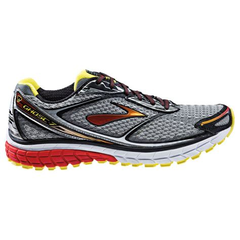 d running shoes ghost 7 road running shoes silver black d width