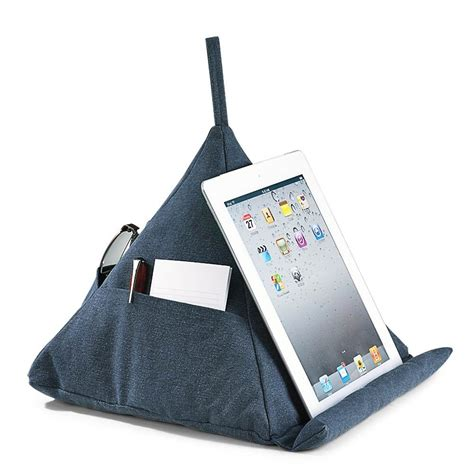 Pillows For Ipads by Levenger Canvas Pyramid Pillow For All Istuff