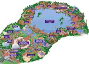 epcot center map my