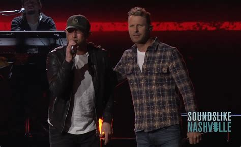 dierks bentley brother go inside acm awards rehearsals with cole swindell brett