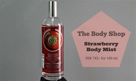 Strawberry Mist The Shop the shop strawberry mist b h a r t i p u r i