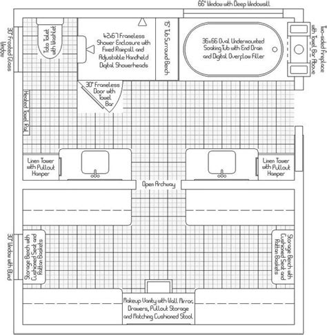 master bathroom layouts with closet 13 x 7 master bath plans master bath closet layout