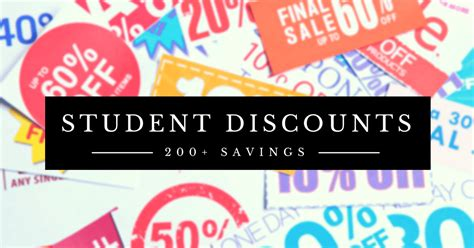 200 awesome student discounts tastebud
