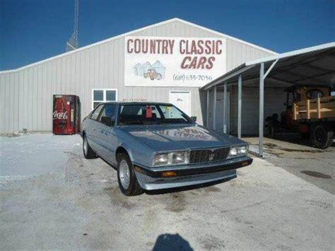 1985 maserati biturbo custom lost cars of the 1980s maserati biturbo hemmings daily