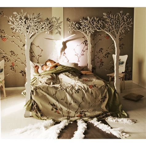 Forest Canopy Bed The Apple Tree Canopy Bed Modern Scandinavian