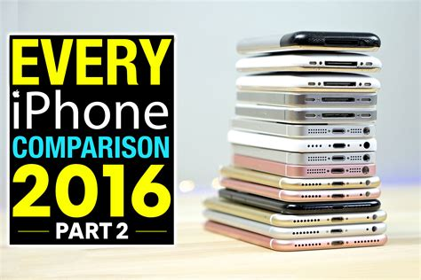 iphone 5 comparison every iphone speed test comparison 2016 part 2
