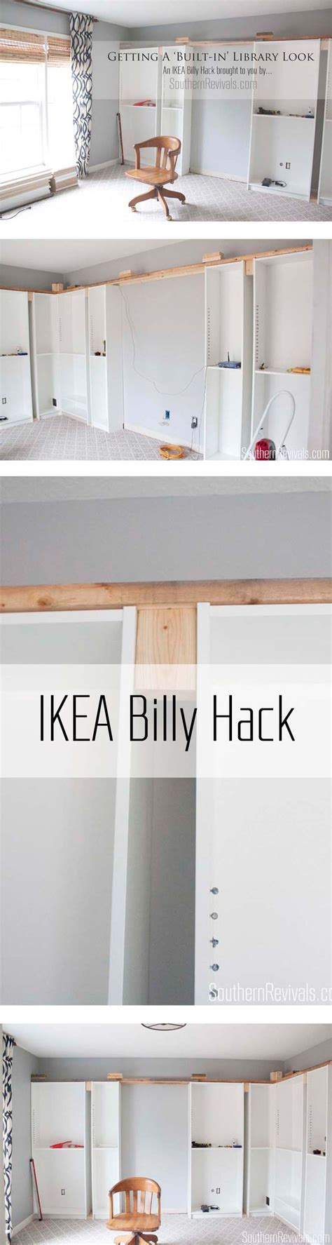 office makeover part 1 building in billy ikea hack 596 best images about diy furniture on pinterest