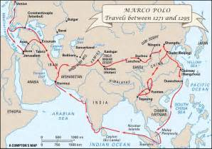 Marco Polo Route Map by Following The Footsteps Of Marco Polo Literally The Sag