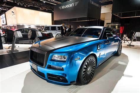 rolls royce wraith mansory mansory 740 hp rolls royce wraith debuting in geneva