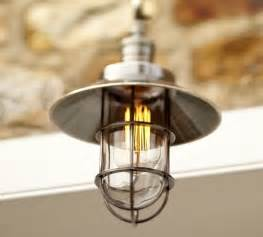 Nautical Kitchen Lighting Marine Pendant Industrial Pendant Lighting By Pottery Barn