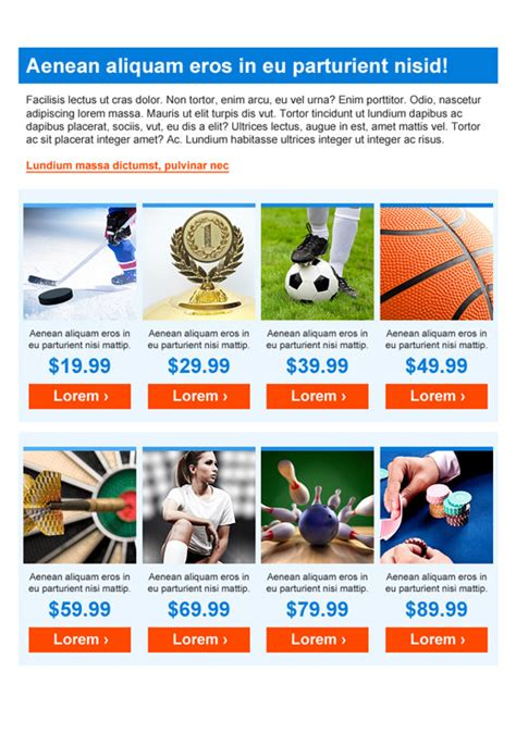 sports newsletter templates sports and recreation newsletter templates email