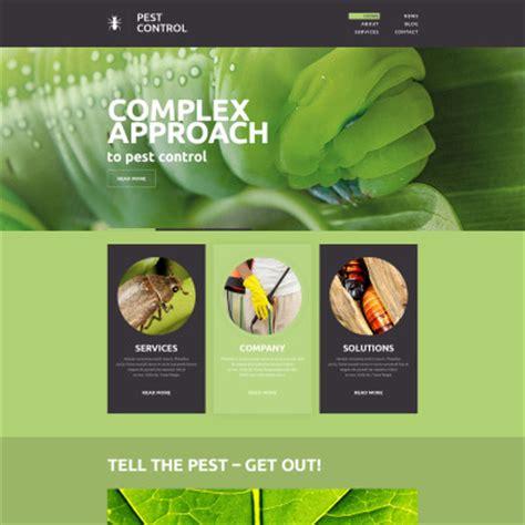 Pest Control Website Templates Pest Website Template