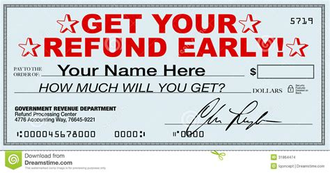 will you get a tax get your tax refund early file now for fast return of